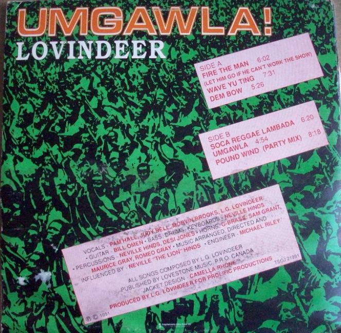 Umgawala , Lovindeer -LP (1991)